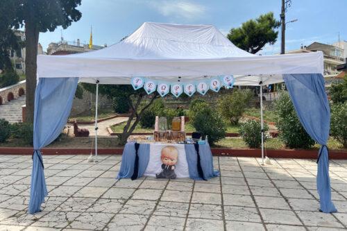 Η βάπτιση του Γεώργιου με θέμα τον baby boss