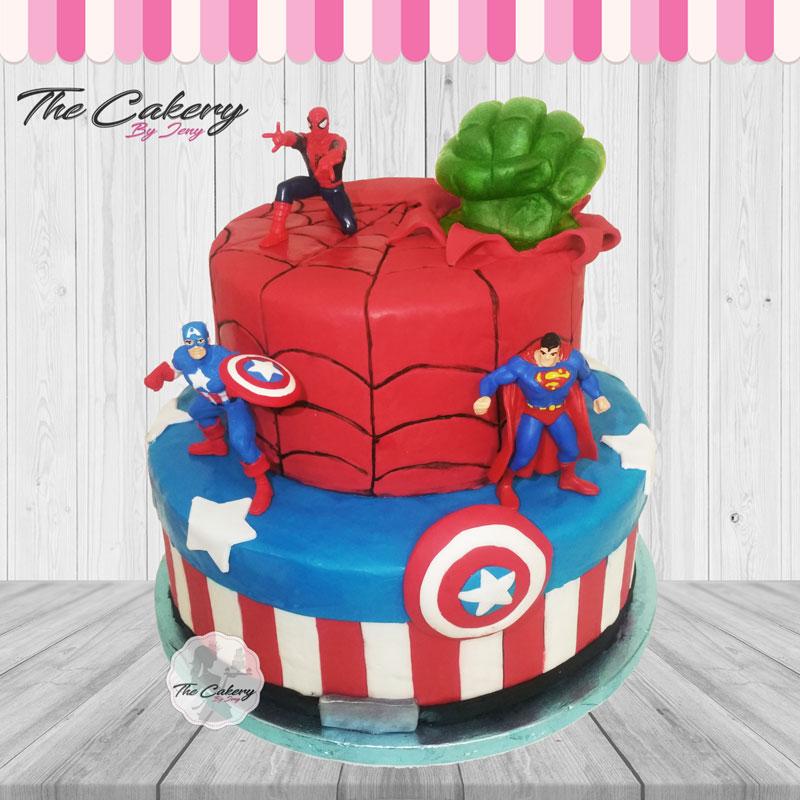 Τούρτα Marvel Super Ήρωες