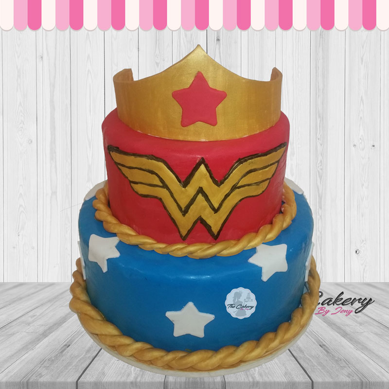 Τούρτα Wonder Woman
