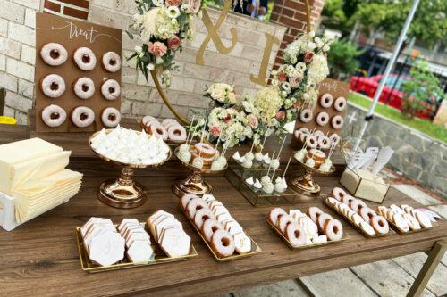Τραπέζι γλυκών γάμου