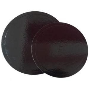 Στρόγγυλος Δίσκος για Τούρτα μαύρος