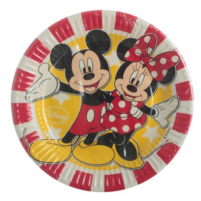 Χάρτινα Πιάτα Mickey