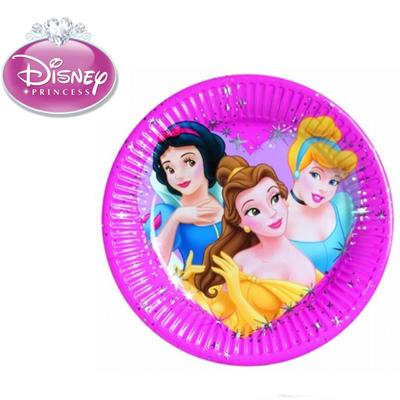 Χάρτινα Πιάτα Πριγκίπισσες