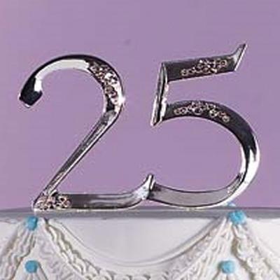 Γαμήλιο Διακοσμητικό 25η Επέτειος