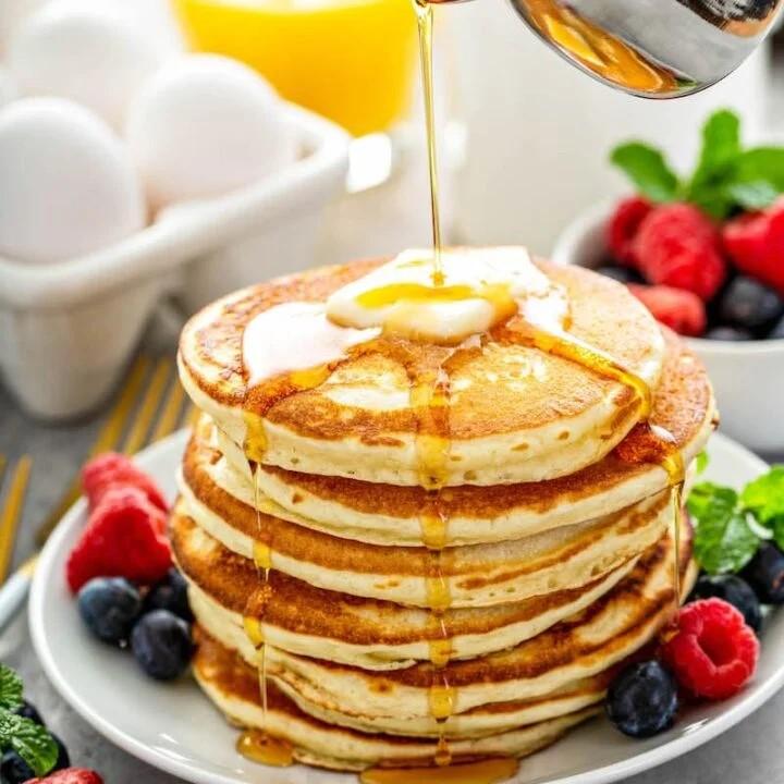 γρήγορα pancakes