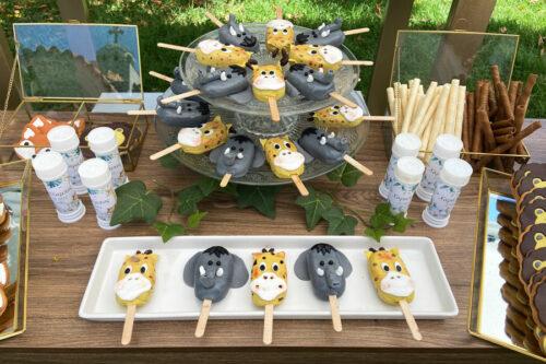 Cakecicles και μπουκαλάκια με φούσκες για τα παιδιά
