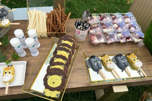 Μπισκότα λιονταράκια και cheesecake