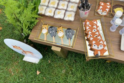 Cakecicles, μπισκότα αλεπούδες και lemon pie